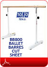 Ballet Barres Cut Sheet(PDF)