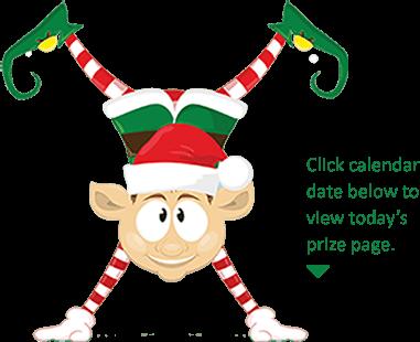 Elf's instructions for Super Santa Giveaway Contest.