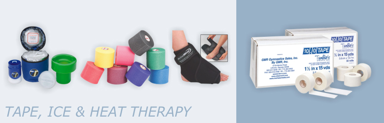 Tape, Ice and Heat Therapy