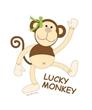 Girl's Lucky Monkey Tee