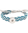 Snap Button Braided Bracelets (charms sold separate)