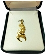 1996 Olympics Gold Plated Charm
