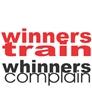 Winners Train Whinners Complain Tee