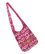 Fuchsia Gymnastic Crossbody Bag