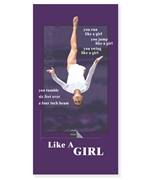 Beam Like A Girl Beach Towel