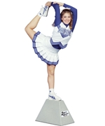 Cheerleading Stunt Stepper
