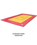 In Ground Trampoline Frame Pads