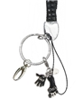 Black Rhinestone Lanyard with Got Chalk Charm
