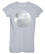 Never Never Give Up Girly Tee