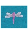 Personalized Teal Dragonfly Panne Leo