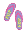 Flip Flop Capri Pants