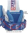 501 Blues Velcro Uneven Bar Dowel Grips FREE SHIPPING