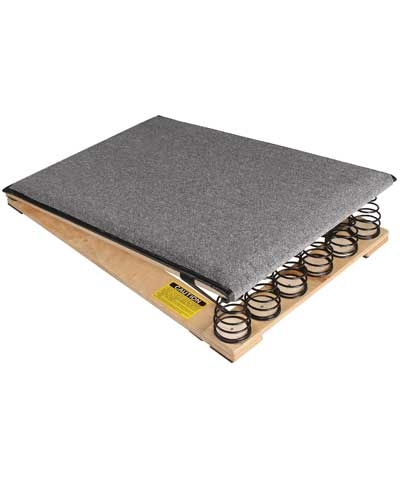 "Norbert's 36"" 6"" Spring Jr Carpeted Vault Board"