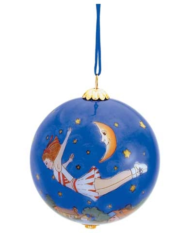 Cheerleader Christmas Glass Ball Ornament