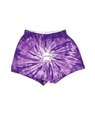 Purple Spider Gymnast Short