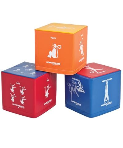 Gymnastics Learning Monkey Cubes