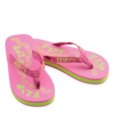 Pink & Green Flip Flop FREE SHIPPING