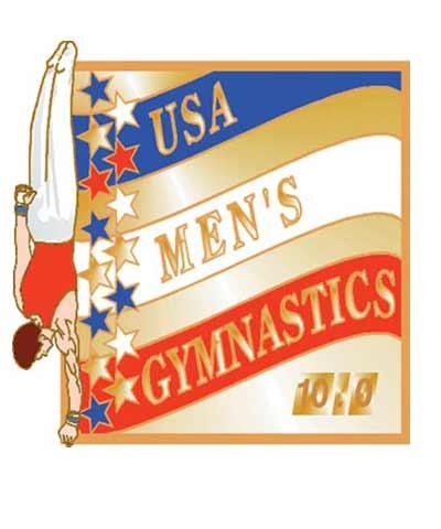 USA Men's Gymnastics Pin