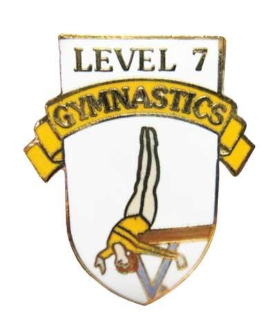 Level 7 Gymnastics Pin