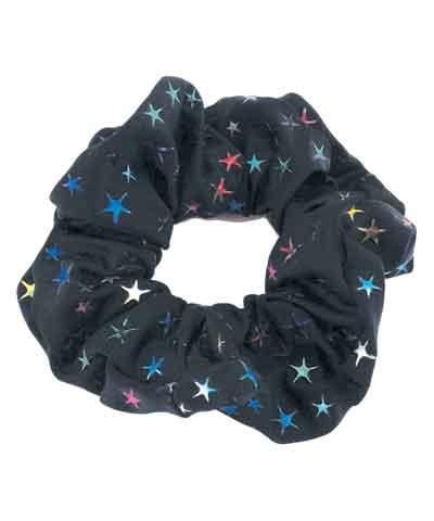 Stars Lycra Scrunchie