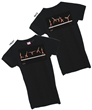 Black Aerial Girly Tee FREE SHIPPING