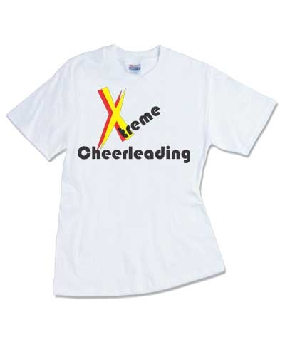 Cheerleader Extreme Cheerleading Tee