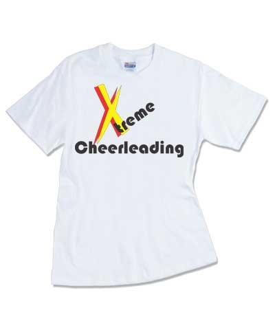 Cheerleader Extreme Cheerleading Tee FREE SHIPPING