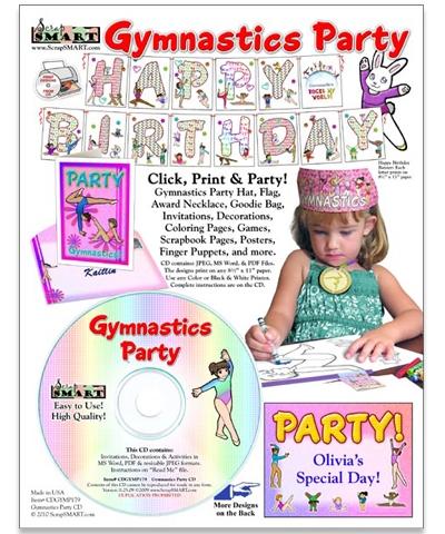 Gymnastics Party CD