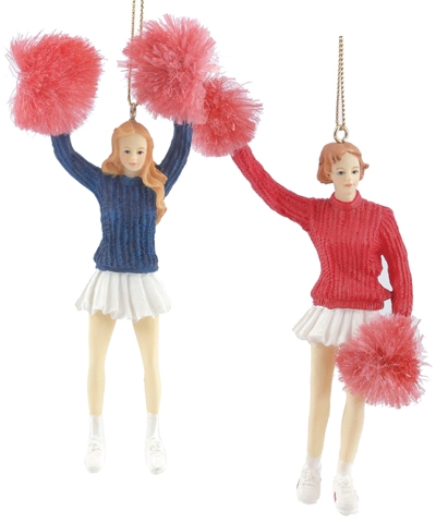 Cheerleaders Christmas Ornament
