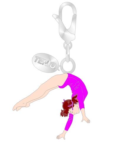 Gym Charm - Back Handspring
