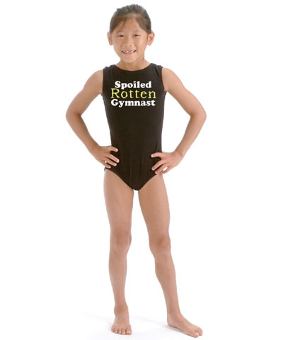 Spoiled Rotten Gymnast Leotard