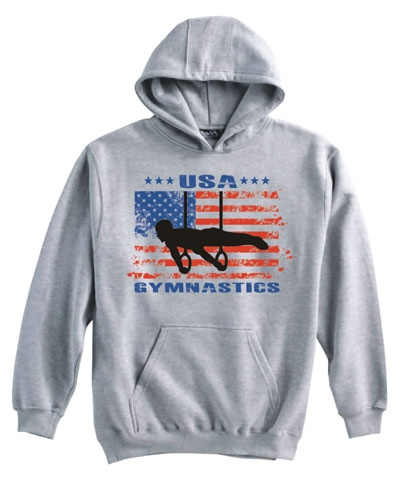 Ash USA Gymnastics Planche Hoody FREE SHIPPING