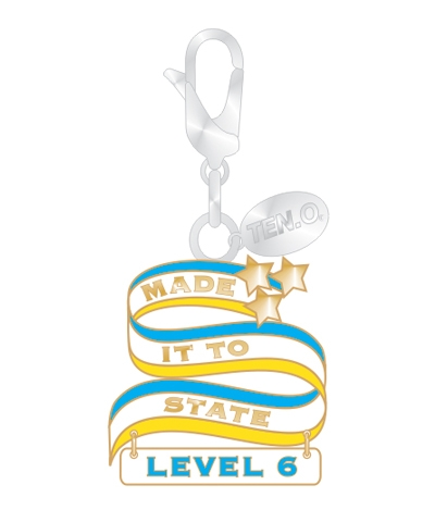 Gym Charm - Made It To State Level 6
