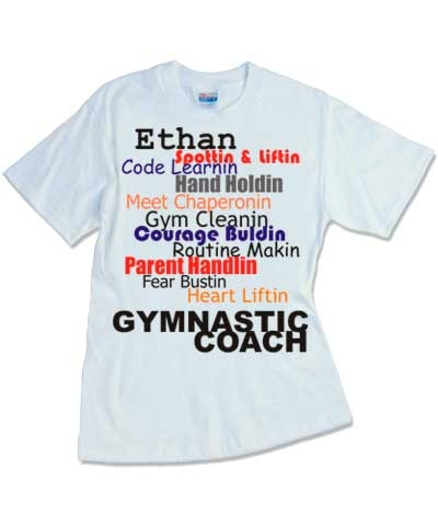 Personalized Coach Tee