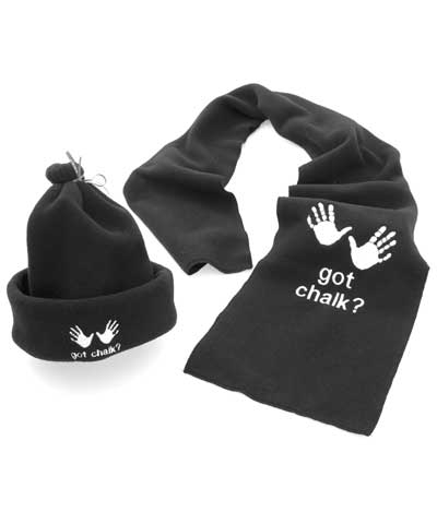 Personalized Got Chalk Hat & Scarf