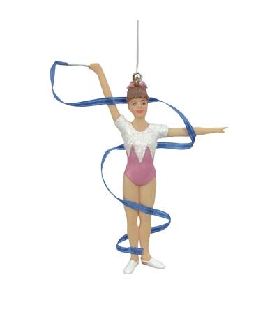Rhythmic Gymnastics Xmas Ornament - TEN-O | ByGMR