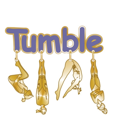 Tumble Dangle Pin