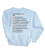 10 Reasons Sweatshirt - Version 1.0