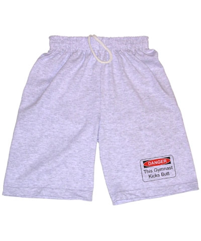 Boys Danger Ash Workout Shorts