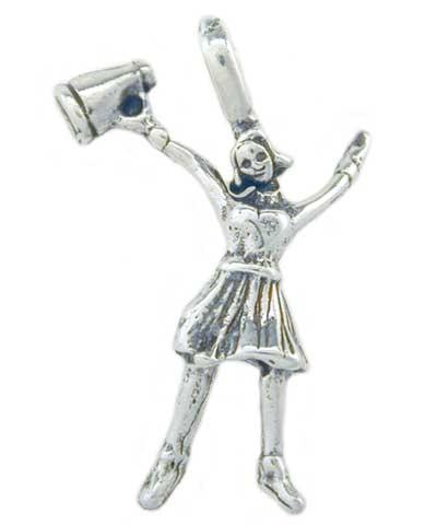 Cheer Girl Megaphone Charm