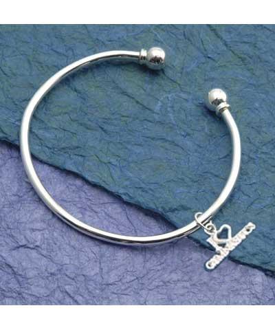 Circle Bracelet & Charm