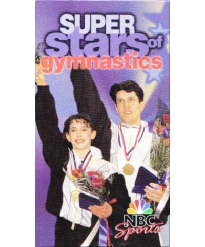 Superstars of Gymnastics (VHS Format)