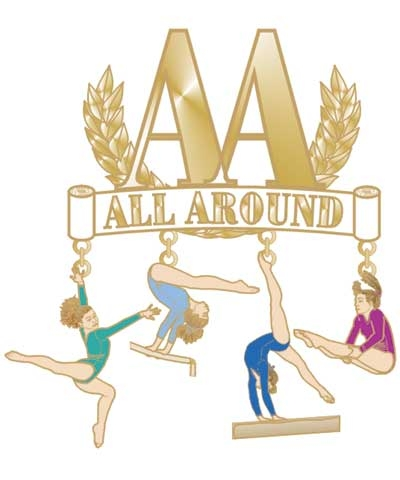 AA All Around Dangle Pin
