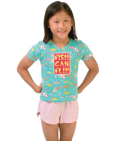 Fish Can Flip Tee FREE SHIPPING