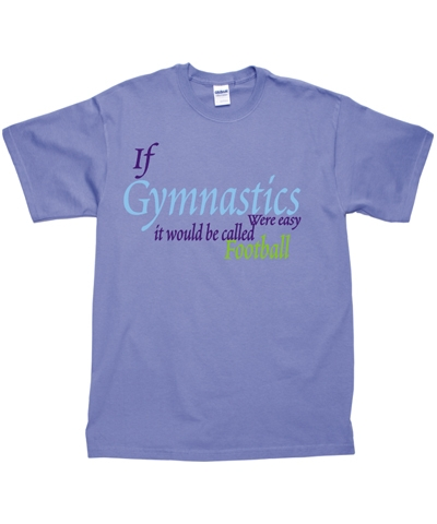 "Lavender ""Gym Football"" Tee"