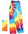 Customized Kaleidoscope Tie Dye Gym Jammies