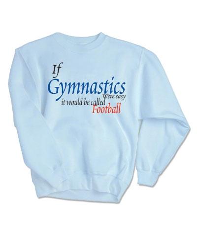 Gym Football Sweatshirt