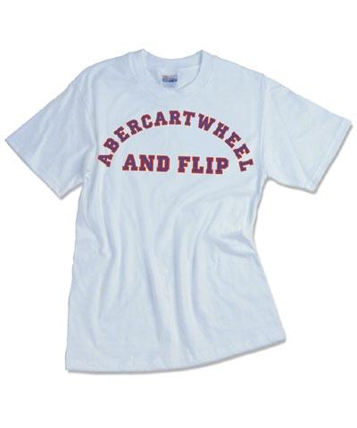 Abercartwheel & Flip Tee FREE SHIPPING