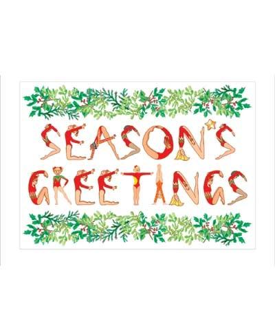 TEN-O Holiday Greeting Postcards