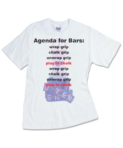 Agenda For Bars Tee FREE SHIPPING